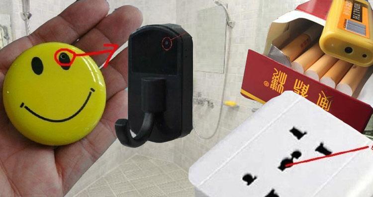 Secret cameras