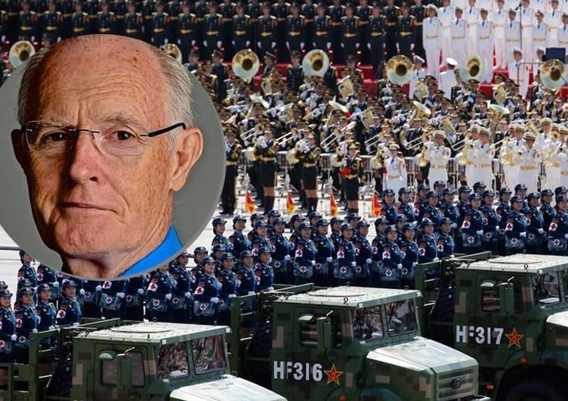 Howard Winn military parade china