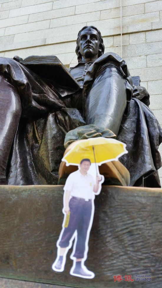 Umbrella Movement Stickers And Protests Mark Chinese