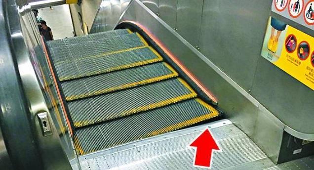 escalator malfunction
