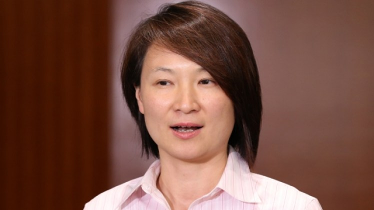 Starry Lee Wai-king, chairperson of the DAB. File Photo: Apple Daily.