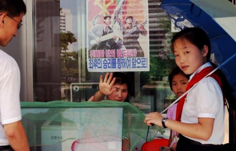 north korea kids ice cream