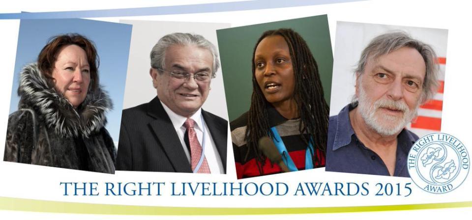Right Livelihood Award Laureates