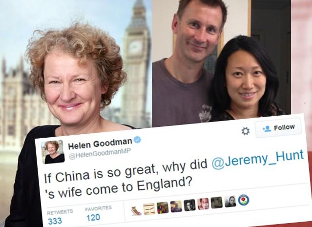Helen Goodman tweet