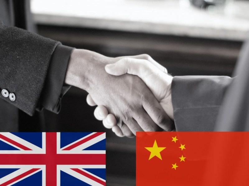 china. uk. handshake