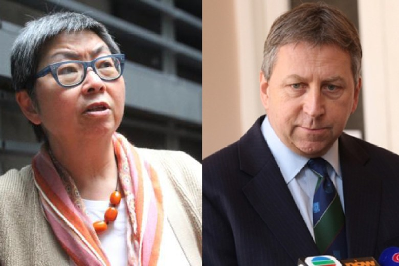 Margaret Ng (left) and Peter Mathieson (right)