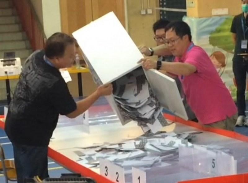 district council elections 2015 hong kong