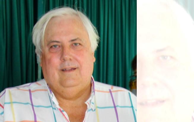 Australian mining tycoon Clive Palmer