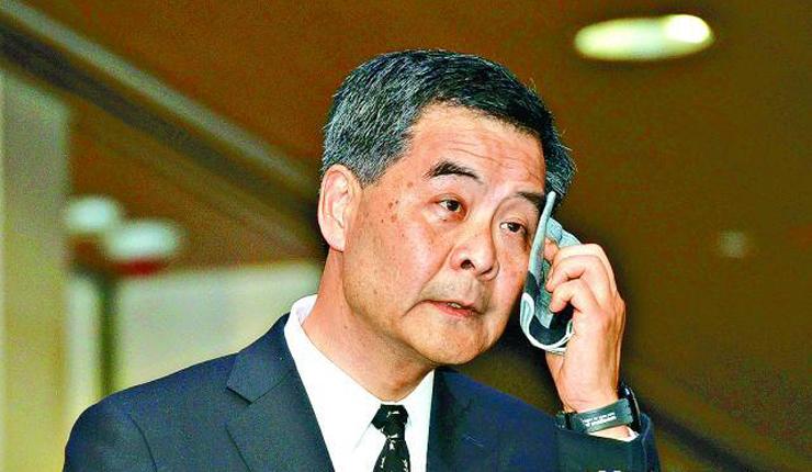 Chief Executive Leung Chun-ying