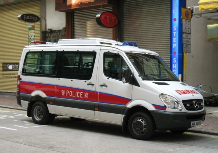 hong kong police car