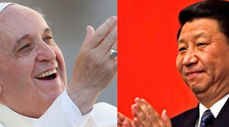 pope francis xi jinping