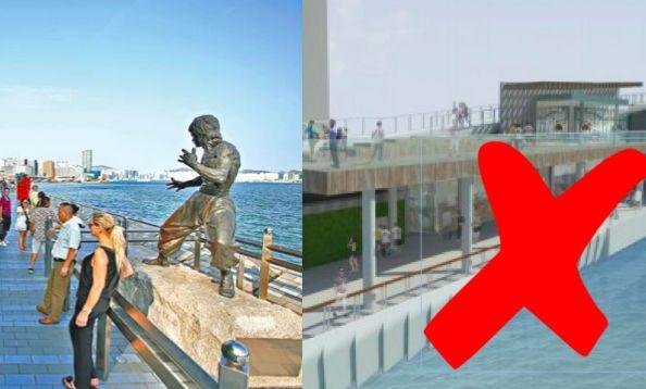 Waterfront revitalisation plan simplified