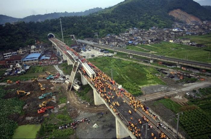 Wenzhou train crash collision