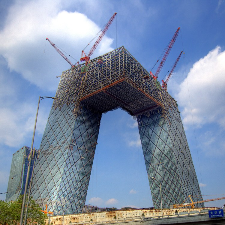 china architecture weird