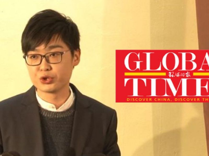 national party chan ho-tin global times