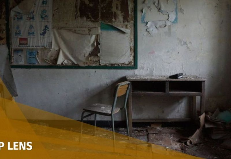 sha lo wan abandoned school