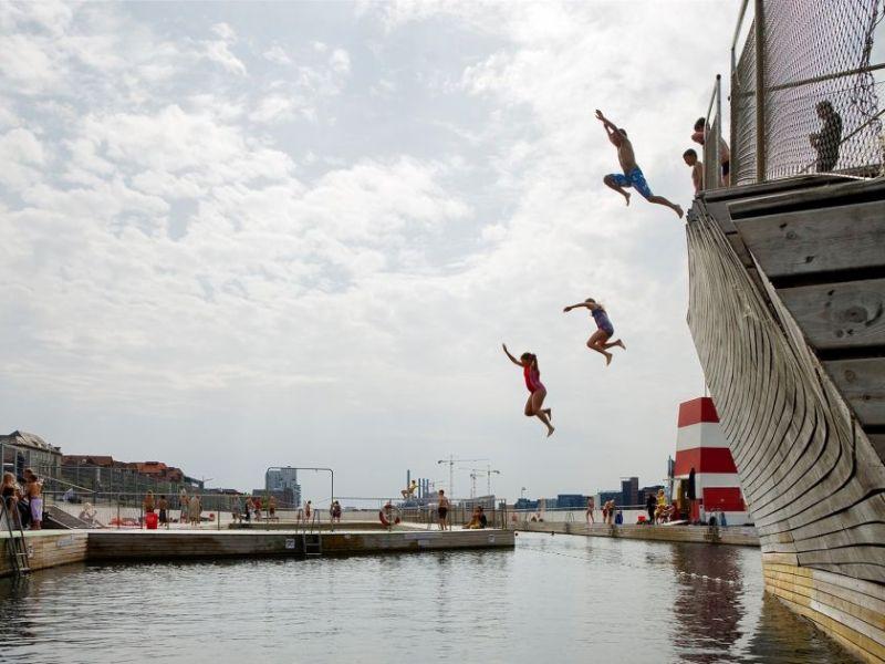 harbour swimming