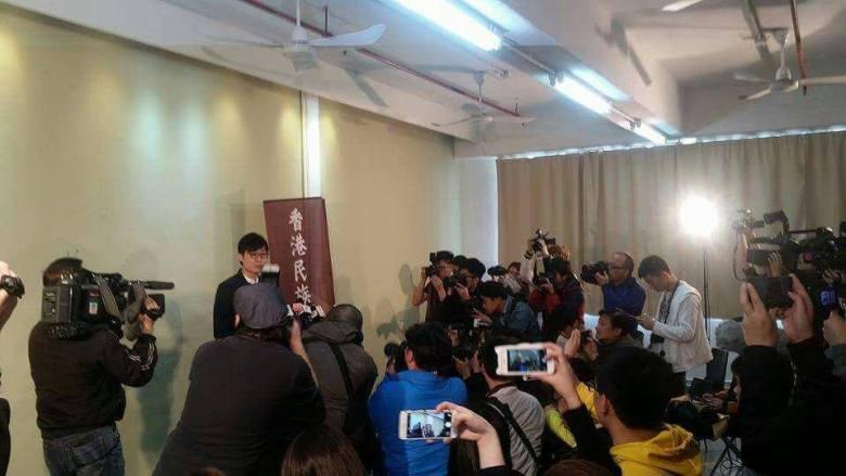 hong kong national party chan ho-tin