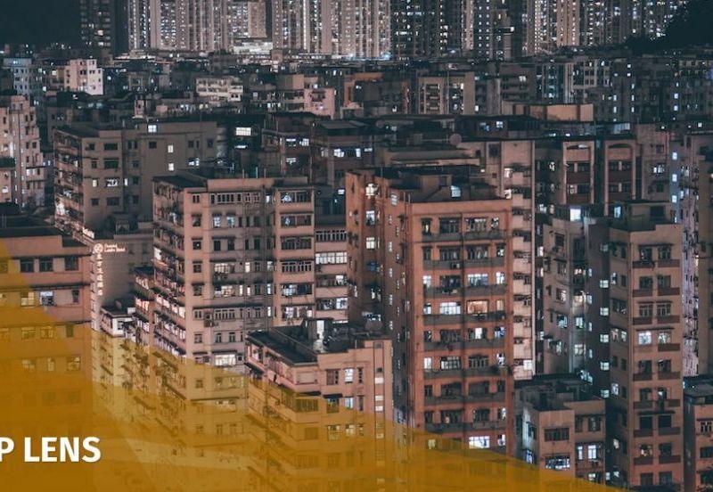 hong kong buildings urban