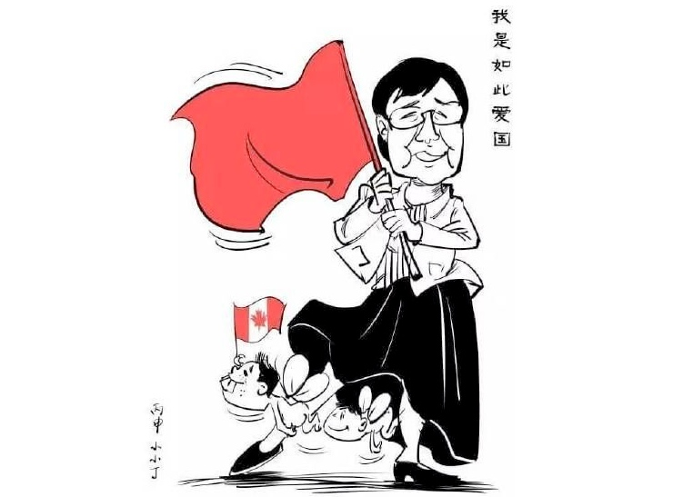 global voices cartoon mother lin yu hong