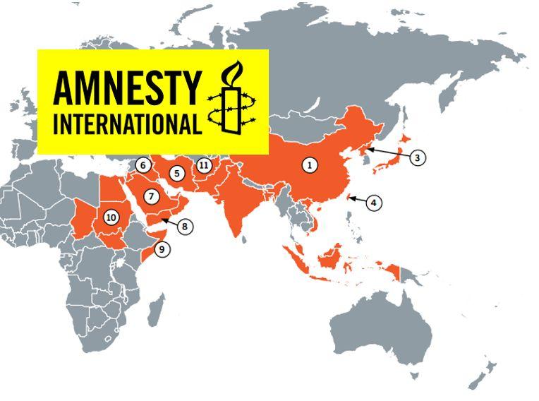 Amnesty International Map executions