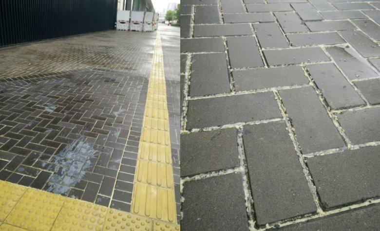 glue bricks