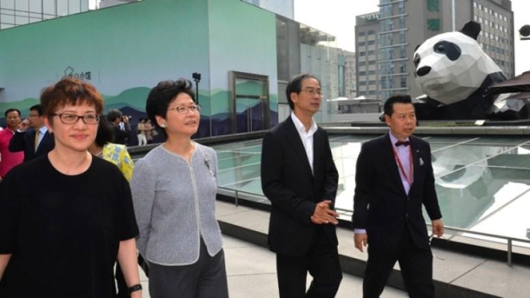 Carrie Lam Sichuan