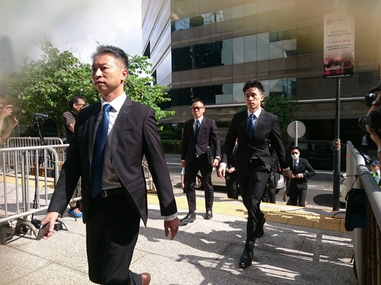 Defendants of the Ken Tsang assault case