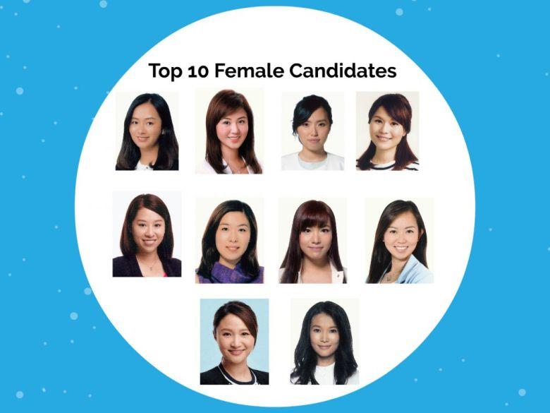 Female district council candidates