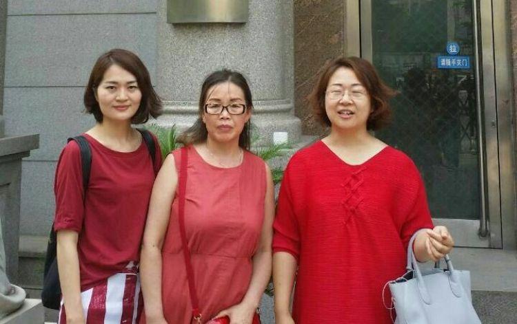 Li Wenzu, Liu Ermin, and Wang Qiaoling