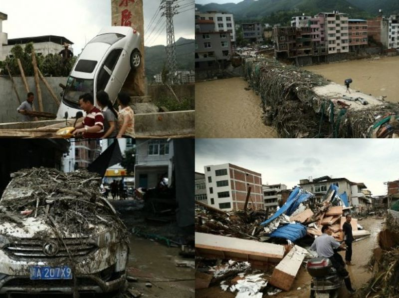 Tropical Storm Nepartak Fujian