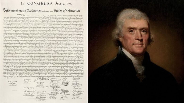 thomas jefferson declaration of independence