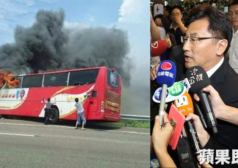taiwan tourism bus crash