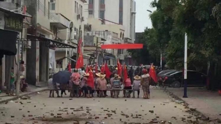 Wukan protesters