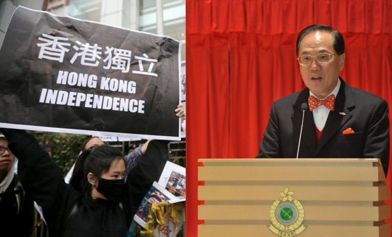 donald tsang hong kong independence