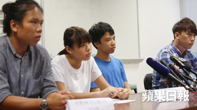 student localist group press conference