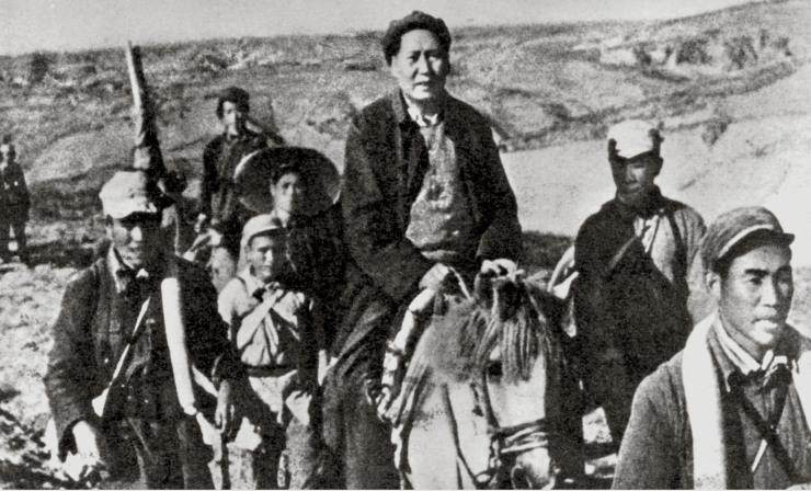 mao long march