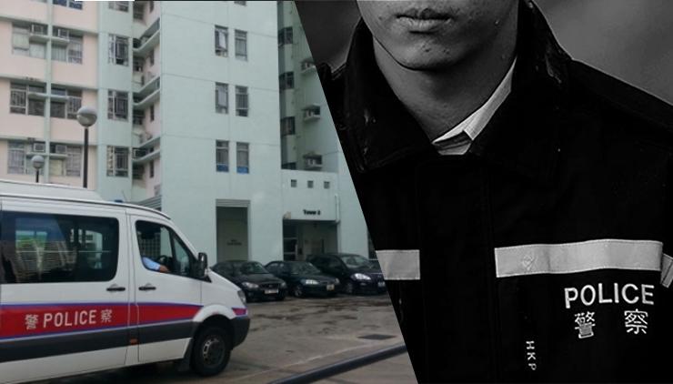 cop died sheung shui