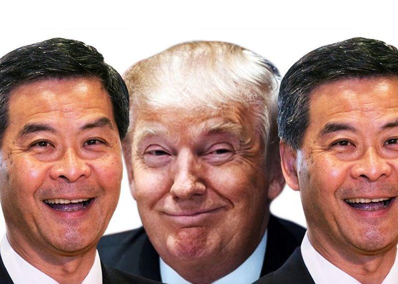 trump cy leung