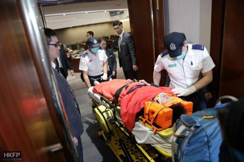 police legco ambulance