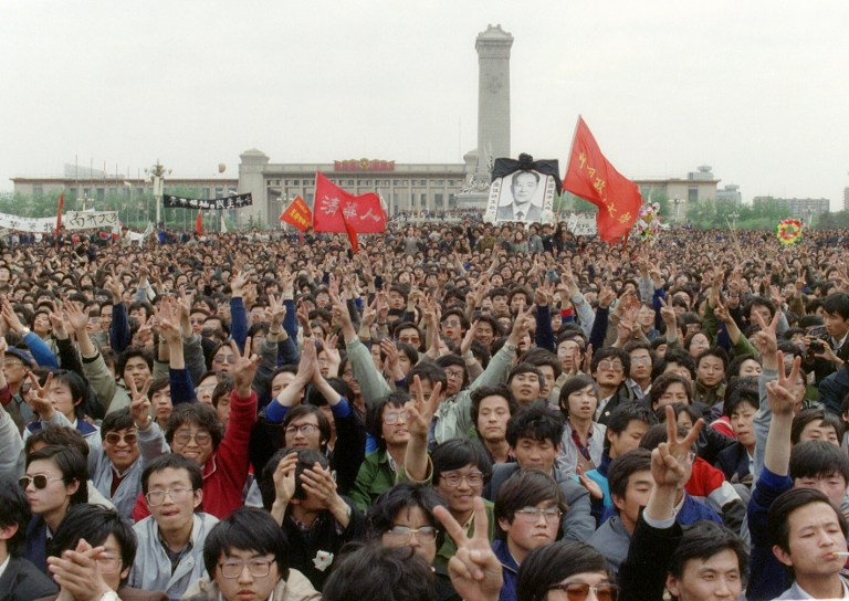 students tiananmen square massacre crackdown 1989