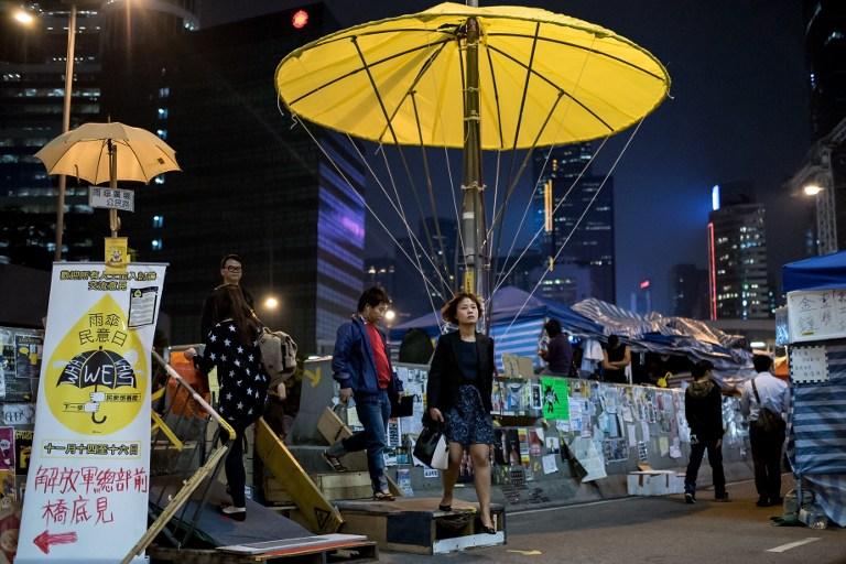 umbrella movement democracy occupy hong kong protest
