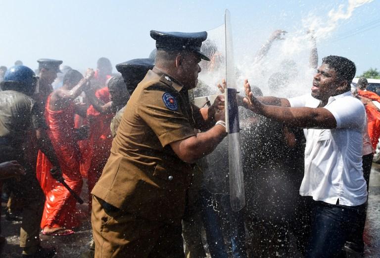 sri lanka protest