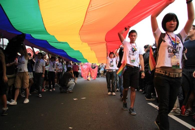 gay taiwan pride