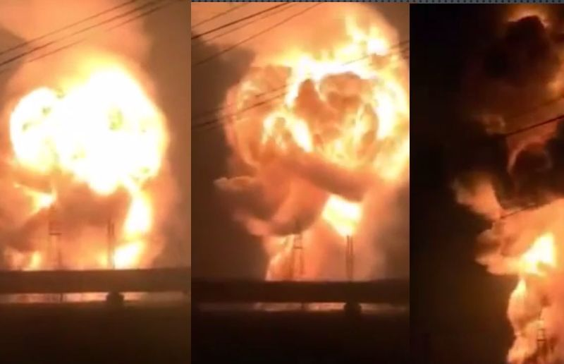 Explosion anhui tongling chemicals plant