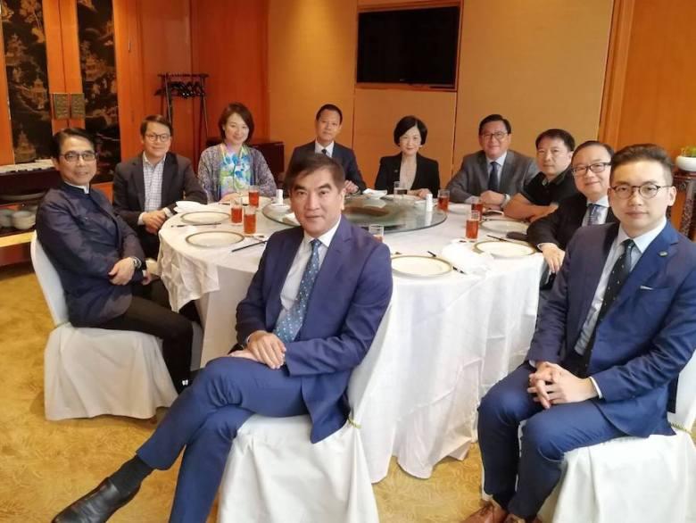 lunch across political spectrum alvin yeung wu chi wai regina ip