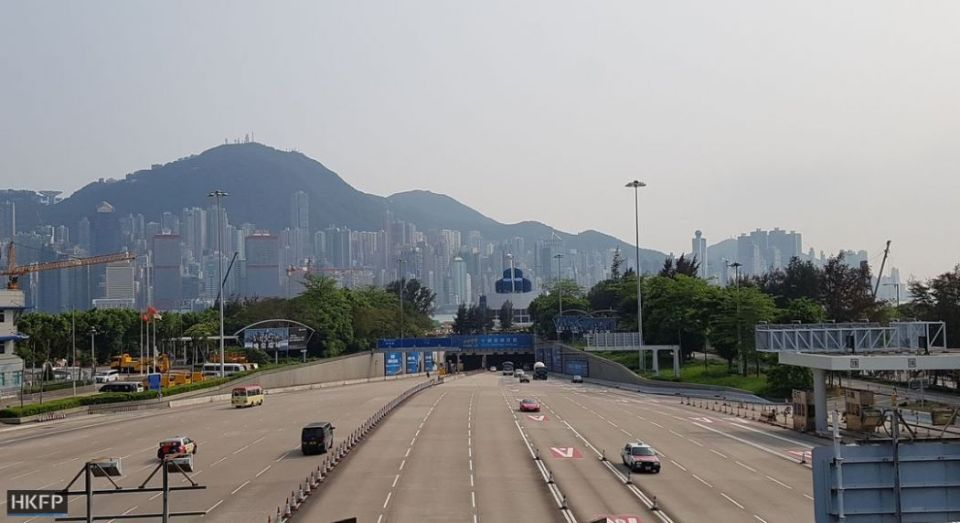 cross harbour tunnel hong kong