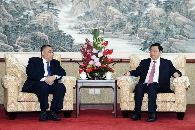 Zhang Dejiang Fernando Chui Sai-on