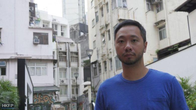 Ken Tsang social worker