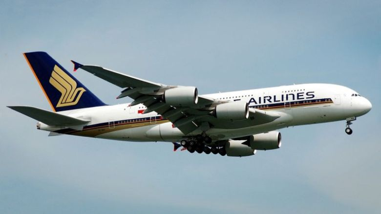 Singapore Airlines aircraft airplane Airbus a380